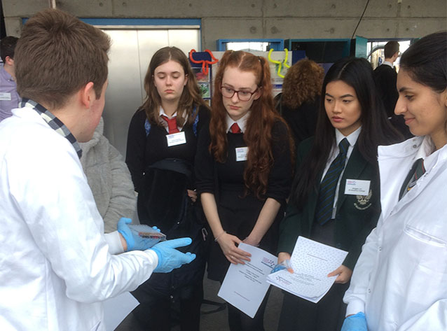 Higher Human Biology pupils attend event at the Glasgow Science Centre