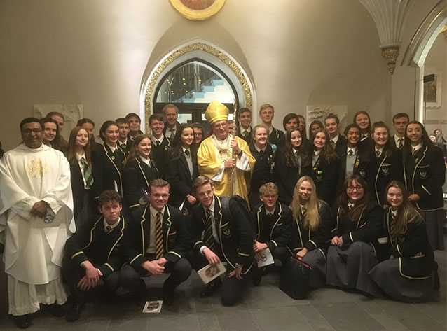 St Aloysius' College Celebrate High Schools' Mass with Archbishop Tartaglia