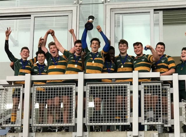 St Als 1st VII Squad Win Rugby 7s Final