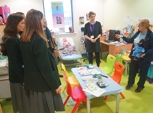 Visit to the Glasgow Childrens Hospital