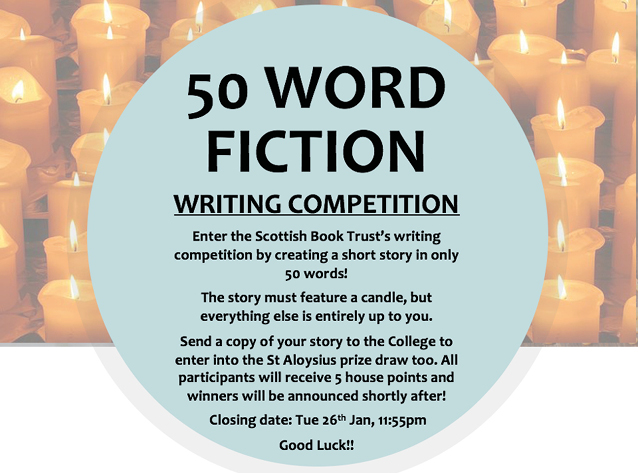 50 Word Fiction Competition!